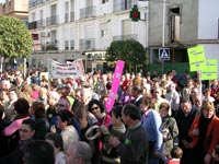 Manifestación Cacerolada