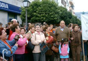 Una de las manifestaciones celebradas en Ubrique