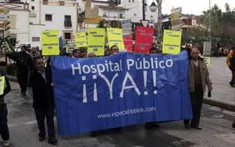 La última manifestación hace una semana del movimiento ciudadano Especialistas Ya. Es la 41 protesta que se realiza./Ramón Aguilar