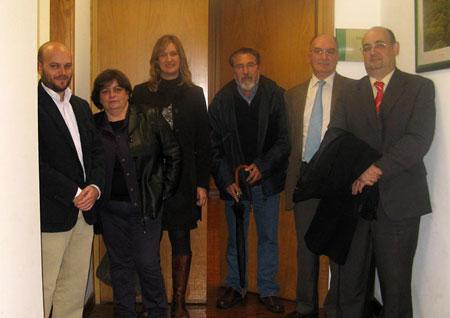 José A. Bautista, Inmac. García, Isabel Gómez, José García, Antonio Rodríguez y Javier Cabezas