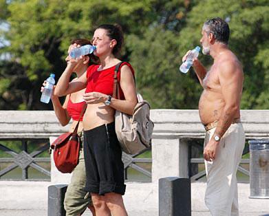 Hidratación abundante