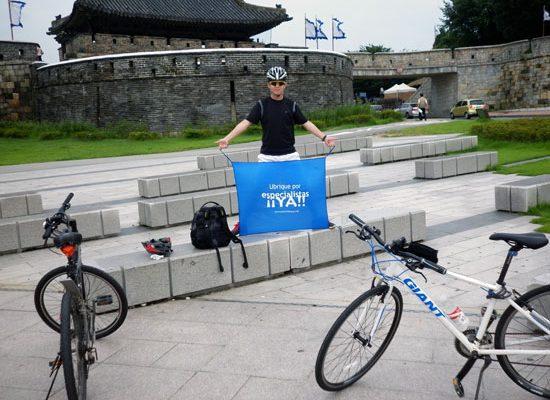 Seongmin Joo apoyando el Observatorio