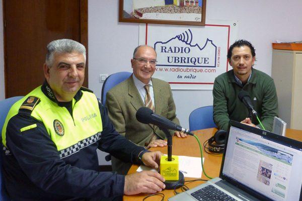 José Benítez, Antonio Rodríguez y Juan Carlos Panal