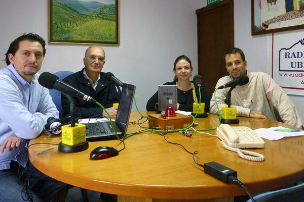 Participantes en la Escuela de Salud de Radio Ubrique