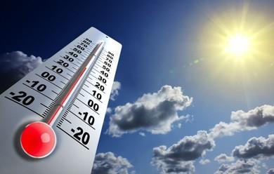 Las altas temperaturas dell verano