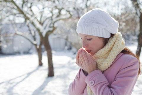 Los problemas del frío en la piel