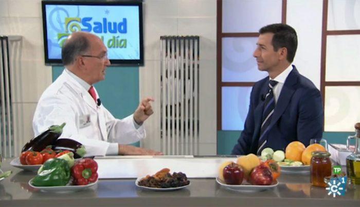 Antonio Rodríguez y Roberto Sánchez en Salud al Día