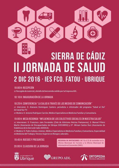 II Jornada de Salud 'Sierra de Cádiz'