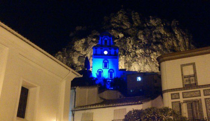 El San Antonio de azul