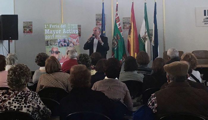 El Dr. Rodríguez Carrión en la I Feria del Mayor Activo en IFECA