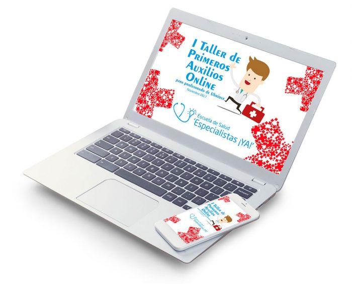 I Taller de Primeros Auxilios online para profesorado
