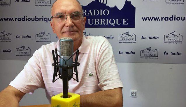 Dr. Antonio Rodríguez Carrión en Radio Ubrique