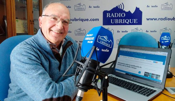 Antonio Rodríguez Carrión en Radio Ubrique