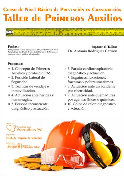 Curso Prevención de RRLL en la Construcción