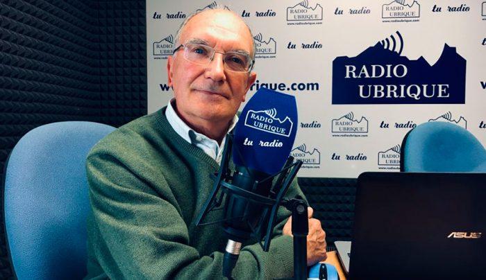 Antonio Rodríguez en Radio Ubrique