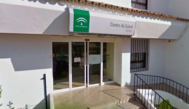 Entrada Centro de Salud de Ubrique