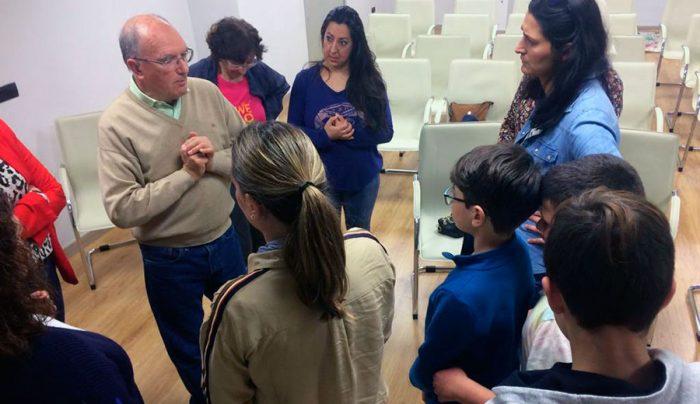 El Dr. Rodríguez Carrión impartiendo el taller - Foto: Fundación