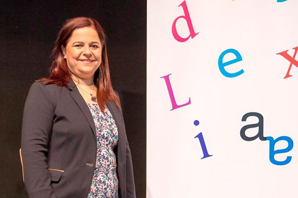 Lucía Alcántara, presidenta de la Asociación Dislexia Cádiz (ADICA)