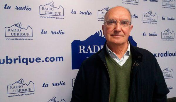 Dr. Rodríguez Carrión en Radio Ubrique