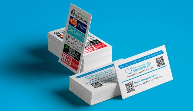 Tarjeta informativa sobre Sanidad en Ubrique