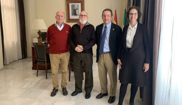 Reunión con el Colegio Oficial de Médicos de Cádiz