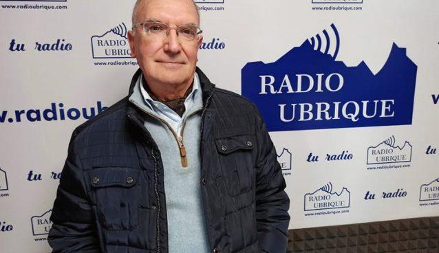 El Dr. Rodríguez Carrión en Radio Ubrique