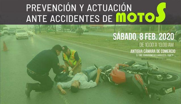 Taller de prevención y actuación en accidentes de motos
