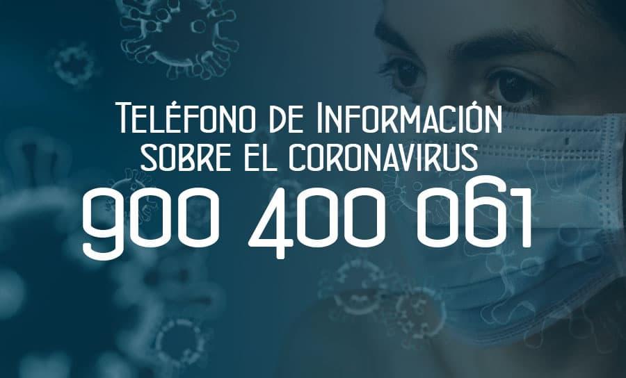 Teléfono del Coronavirus