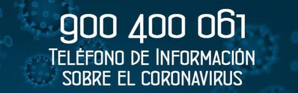 Teléfono de Información sobre el Coronavirus