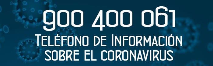 Teléfono de información del coronavirus