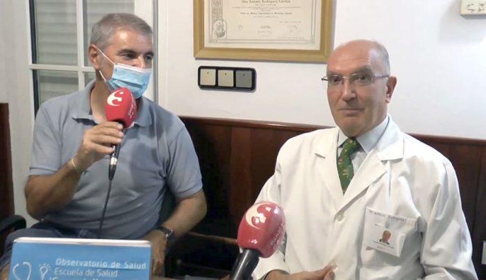 Juan Manuel López y Antonio Rodríguez Carrión