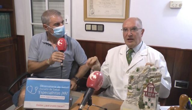Momento del programa del Canal Sierra de Cádiz