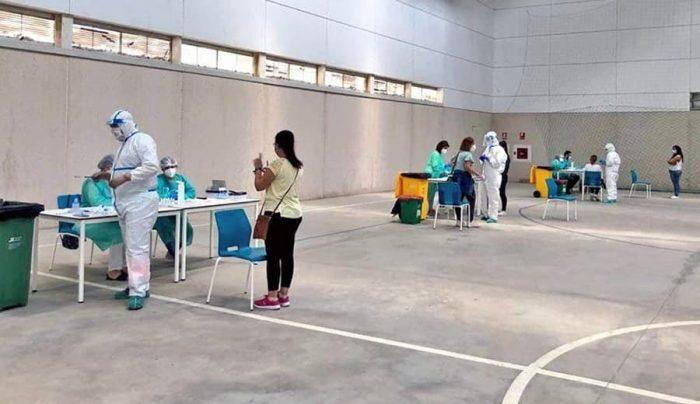 Test de coronavirus en Bornos